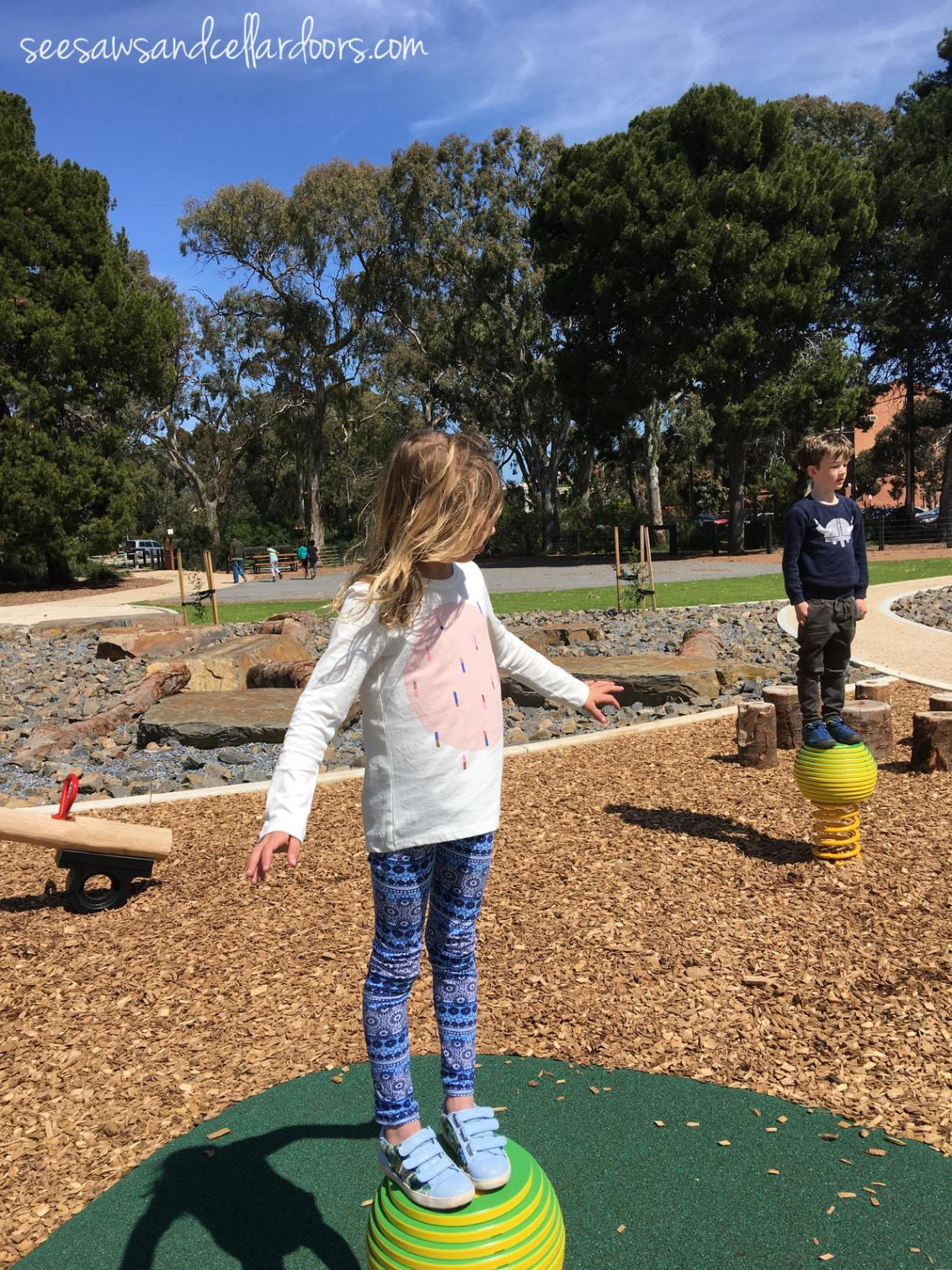 North Adelaide Playspace Review by Susannah Marks