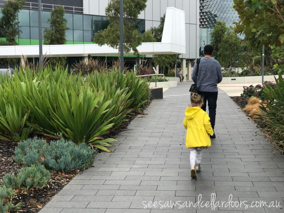 Royal Adelaide Hospital Playground and amenities